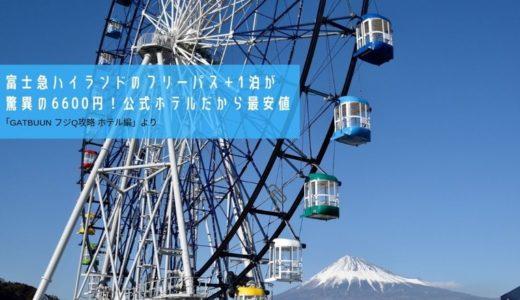 【フジQ攻略】富士急ハイランドのフリーパス+1泊が驚異の6600円!公式ホテルだから最安値