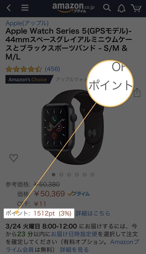 Amazonポイント対象商品の見分け方
