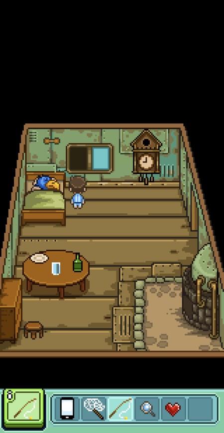 室内に置かれている家具や道具を片っ端から調べる