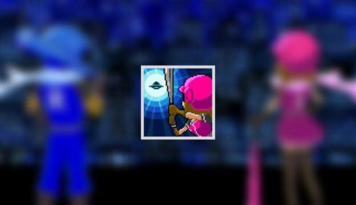 バッティングヒーローは宇宙人が投げる魔球を打ち返して攻撃する摩訶不思議なアクションゲーム