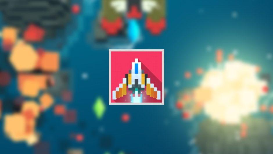 レトロシューティングはポリゴン弾けるファミコン風のシューティングゲーム