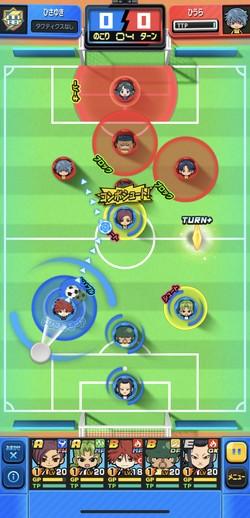ひっぱり系サッカーゲーム
