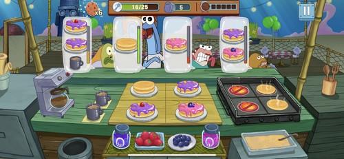 料理を作るアクションゲーム