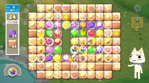 マッチ3形式のパズル